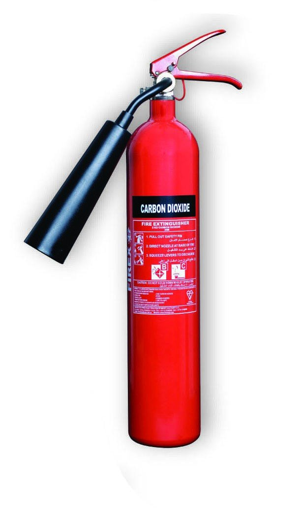 Firewarrior Fire Protection Carbon Dioxide Fire Extinguisher