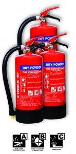 FP DRY POWDER FIRE EXTINGUISHER